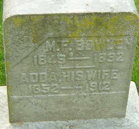 BOWDEN, ADDA - Montgomery County, Ohio | ADDA BOWDEN - Ohio Gravestone Photos