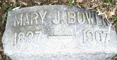 BOWEN, MARY J. - Montgomery County, Ohio | MARY J. BOWEN - Ohio Gravestone Photos