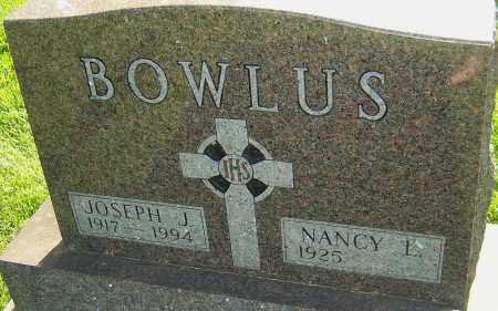 BOWLUS, JOSEPH J - Montgomery County, Ohio | JOSEPH J BOWLUS - Ohio Gravestone Photos