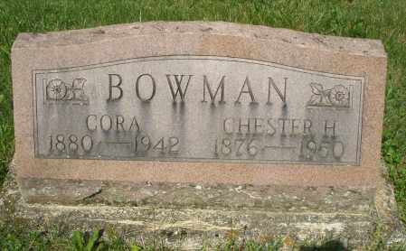 BOWMAN, CHESTER H. - Montgomery County, Ohio | CHESTER H. BOWMAN - Ohio Gravestone Photos