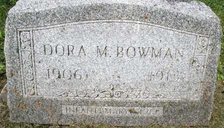 BOWMAN, MARY INFANT - Montgomery County, Ohio | MARY INFANT BOWMAN - Ohio Gravestone Photos