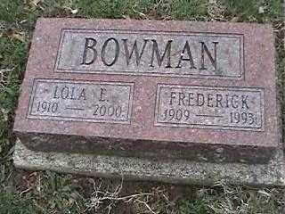 BOWMAN, LOLA E. - Montgomery County, Ohio | LOLA E. BOWMAN - Ohio Gravestone Photos