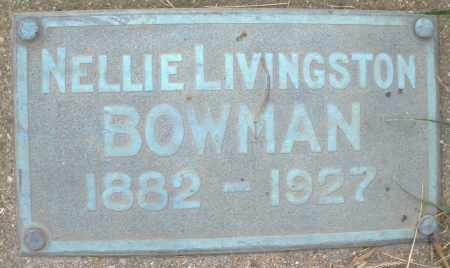 BOWMAN, NELLIE - Montgomery County, Ohio | NELLIE BOWMAN - Ohio Gravestone Photos