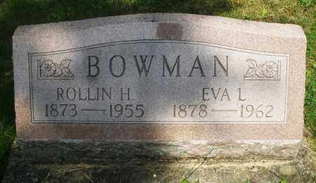 BOWMAN, EVA L. - Montgomery County, Ohio | EVA L. BOWMAN - Ohio Gravestone Photos