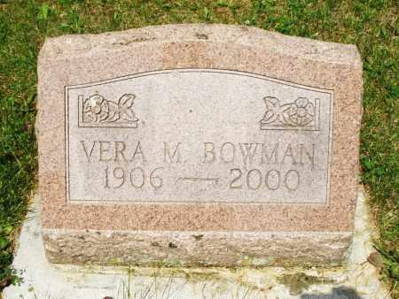 BOWMAN, VERA M. - Montgomery County, Ohio | VERA M. BOWMAN - Ohio Gravestone Photos