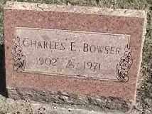 BOWSER, CHARLES E. - Montgomery County, Ohio | CHARLES E. BOWSER - Ohio Gravestone Photos