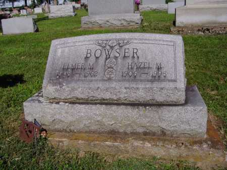 BOWSER, ELMER M - Montgomery County, Ohio | ELMER M BOWSER - Ohio Gravestone Photos