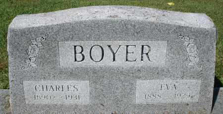 BOYER, EVA - Montgomery County, Ohio | EVA BOYER - Ohio Gravestone Photos