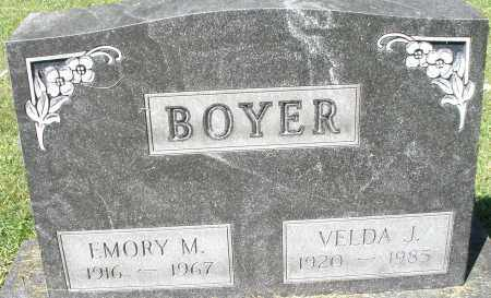 BOYER, EMORY M. - Montgomery County, Ohio | EMORY M. BOYER - Ohio Gravestone Photos