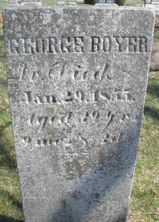 BOYER, GEORGE - Montgomery County, Ohio | GEORGE BOYER - Ohio Gravestone Photos