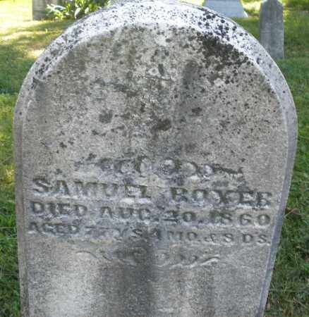 BOYER, SAMUEL - Montgomery County, Ohio | SAMUEL BOYER - Ohio Gravestone Photos