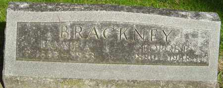 COLBURN BRACKNEY, FANNIE A - Montgomery County, Ohio | FANNIE A COLBURN BRACKNEY - Ohio Gravestone Photos