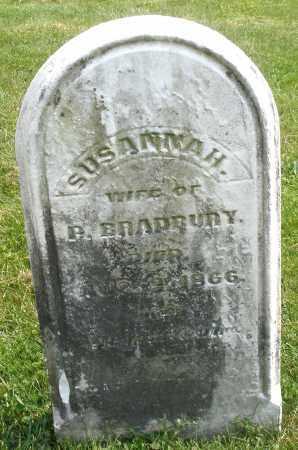 BRADBURY, SUSANNAH - Montgomery County, Ohio | SUSANNAH BRADBURY - Ohio Gravestone Photos