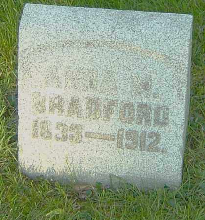 BRADFORD, ANNA M - Montgomery County, Ohio | ANNA M BRADFORD - Ohio Gravestone Photos
