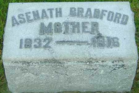 BROWNING BRADFORD, ASENATH - Montgomery County, Ohio | ASENATH BROWNING BRADFORD - Ohio Gravestone Photos