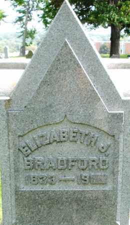 BRADFORD, ELIZABETH J. - Montgomery County, Ohio | ELIZABETH J. BRADFORD - Ohio Gravestone Photos