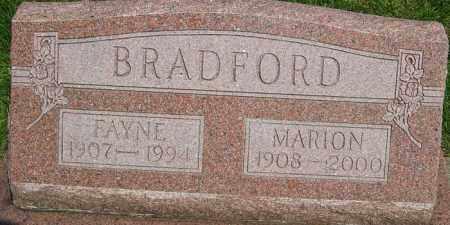 MANUEL BRADFORD, FAYNE CLEO - Montgomery County, Ohio | FAYNE CLEO MANUEL BRADFORD - Ohio Gravestone Photos