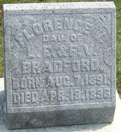 BRADFORD, FLORENCE V - Montgomery County, Ohio | FLORENCE V BRADFORD - Ohio Gravestone Photos