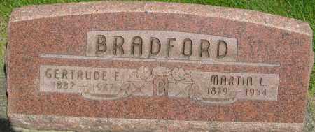 YATES BRADFORD, GERTRUDE E - Montgomery County, Ohio | GERTRUDE E YATES BRADFORD - Ohio Gravestone Photos