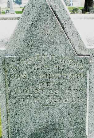 WEAD BRADFORD, HARRIET - Montgomery County, Ohio | HARRIET WEAD BRADFORD - Ohio Gravestone Photos