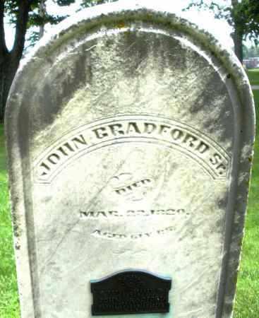 BRADFORD, JOHN SR. - Montgomery County, Ohio | JOHN SR. BRADFORD - Ohio Gravestone Photos