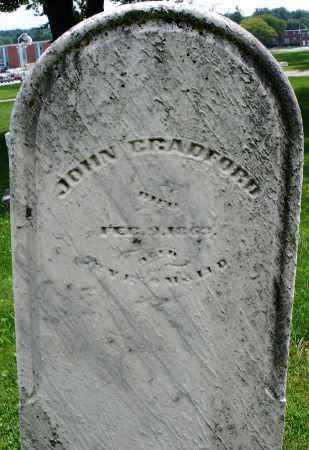 BRADFORD, JOHN - Montgomery County, Ohio | JOHN BRADFORD - Ohio Gravestone Photos
