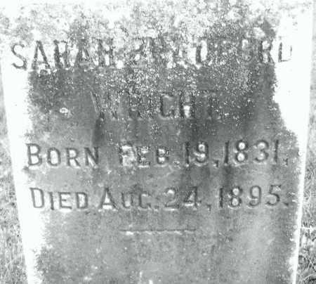 BRADFORD, SARAH - Montgomery County, Ohio | SARAH BRADFORD - Ohio Gravestone Photos