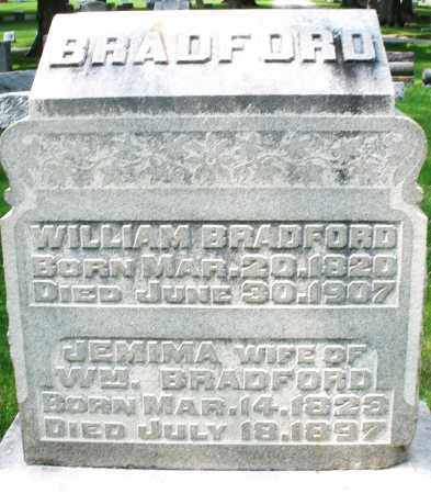 BRADFORD, WILLIAM - Montgomery County, Ohio | WILLIAM BRADFORD - Ohio Gravestone Photos