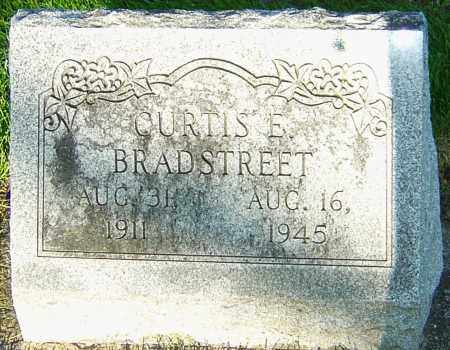 BRADSTREET, CURTIS EMORY - Montgomery County, Ohio | CURTIS EMORY BRADSTREET - Ohio Gravestone Photos