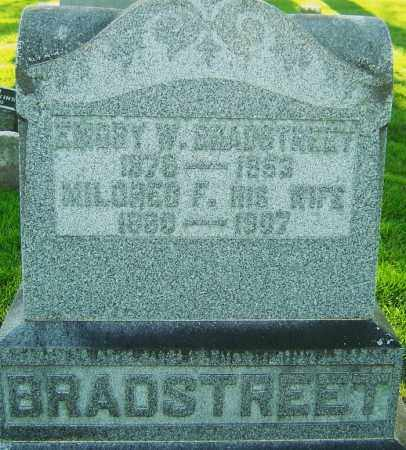 BRADSTREET, MILDRED FAYNE - Montgomery County, Ohio | MILDRED FAYNE BRADSTREET - Ohio Gravestone Photos