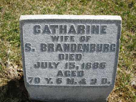 BRANDENBURG, CATHARINE - Montgomery County, Ohio | CATHARINE BRANDENBURG - Ohio Gravestone Photos
