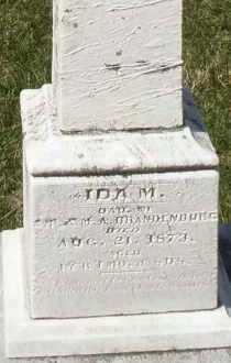 BRANDENBURG, IDA M. - Montgomery County, Ohio | IDA M. BRANDENBURG - Ohio Gravestone Photos