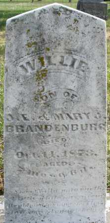 BRANDENBURG, WILLIE - Montgomery County, Ohio | WILLIE BRANDENBURG - Ohio Gravestone Photos