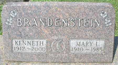 BRANDENSTEIN, KENNETH - Montgomery County, Ohio | KENNETH BRANDENSTEIN - Ohio Gravestone Photos