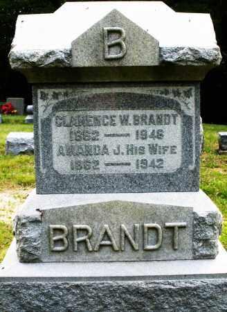 BRANDT, CLARENCE W. - Montgomery County, Ohio | CLARENCE W. BRANDT - Ohio Gravestone Photos