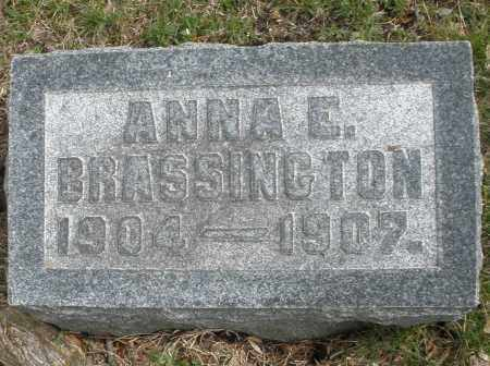 BRASSINGTON, ANNA E. - Montgomery County, Ohio | ANNA E. BRASSINGTON - Ohio Gravestone Photos