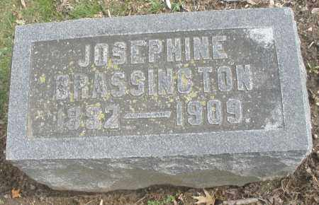 BRASSINGTON, JOSEPHINE - Montgomery County, Ohio | JOSEPHINE BRASSINGTON - Ohio Gravestone Photos