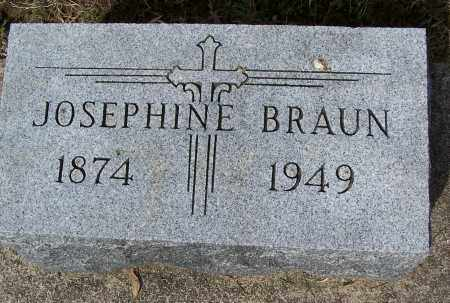 BRAUN, JOSEPHINE - Montgomery County, Ohio | JOSEPHINE BRAUN - Ohio Gravestone Photos
