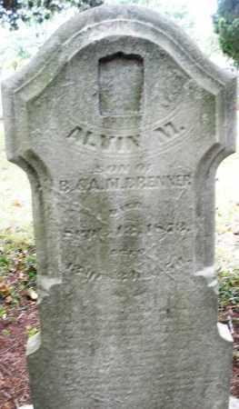BRENNER, ALVIN M. - Montgomery County, Ohio | ALVIN M. BRENNER - Ohio Gravestone Photos