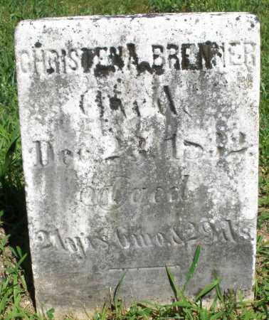 BRENNER, CHRISTENA - Montgomery County, Ohio | CHRISTENA BRENNER - Ohio Gravestone Photos