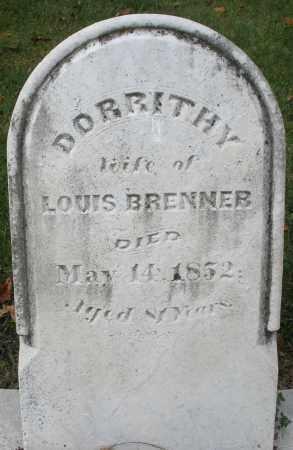 BRENNER, DORRITHY - Montgomery County, Ohio | DORRITHY BRENNER - Ohio Gravestone Photos