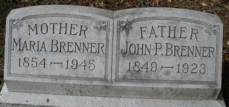BRENNER, JOHN P. - Montgomery County, Ohio | JOHN P. BRENNER - Ohio Gravestone Photos