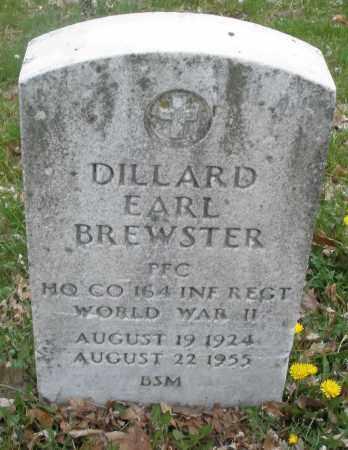 BREWSTER, DILLARD EARL - Montgomery County, Ohio | DILLARD EARL BREWSTER - Ohio Gravestone Photos