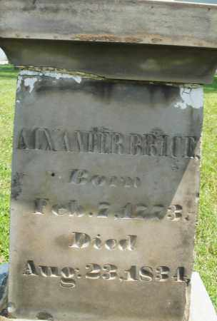 BRICE, ALEXANDER - Montgomery County, Ohio | ALEXANDER BRICE - Ohio Gravestone Photos