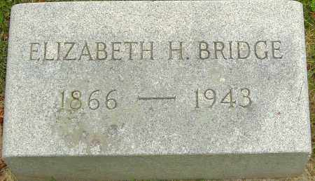 BRIDGE, ELIZABETH - Montgomery County, Ohio | ELIZABETH BRIDGE - Ohio Gravestone Photos