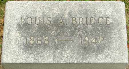 BRIDGE, LOUIS ALBERT - Montgomery County, Ohio | LOUIS ALBERT BRIDGE - Ohio Gravestone Photos