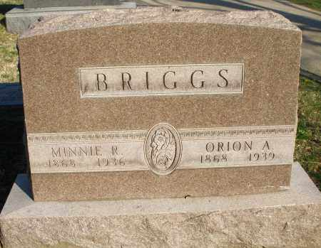 BRIGGS, ORION A. - Montgomery County, Ohio | ORION A. BRIGGS - Ohio Gravestone Photos