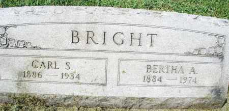 BRIGHT, CARL S. - Montgomery County, Ohio | CARL S. BRIGHT - Ohio Gravestone Photos