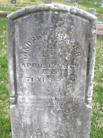 BRIXNER, ANDREW - Montgomery County, Ohio | ANDREW BRIXNER - Ohio Gravestone Photos