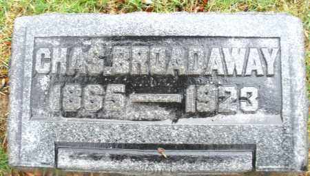 BROADAWAY, CHARLES - Montgomery County, Ohio | CHARLES BROADAWAY - Ohio Gravestone Photos